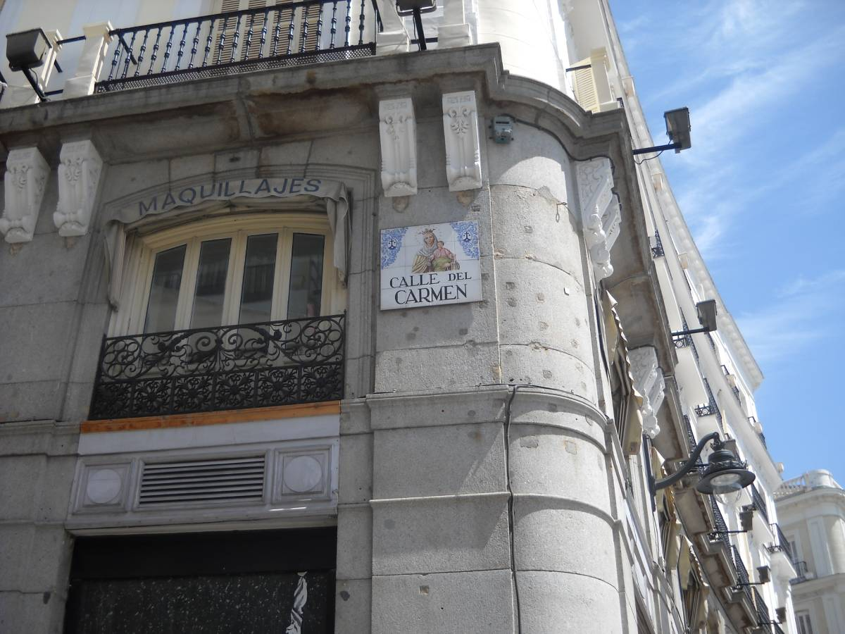 calle del carmen madrid