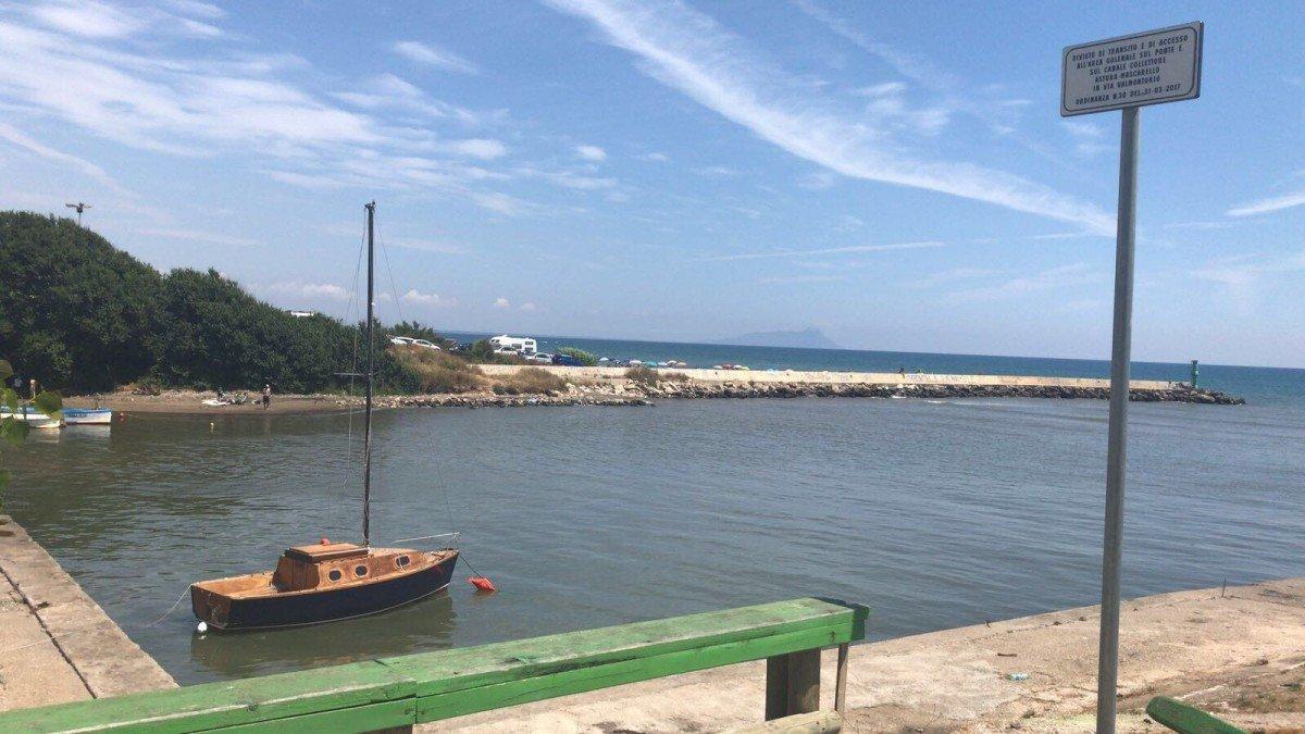 latina passeggio vecchia littoria porto