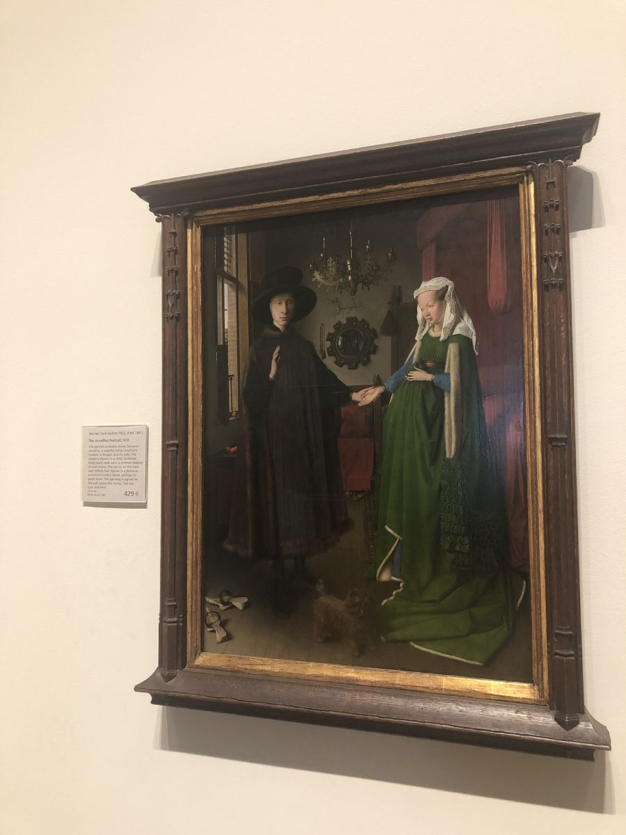 Van eyk National gallery Londra