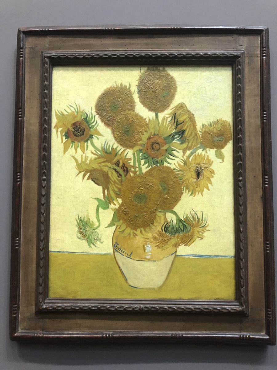 Van gogh National gallery Londra