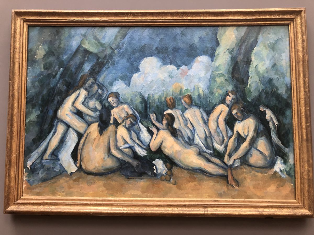 Cezanne National gallery Londra