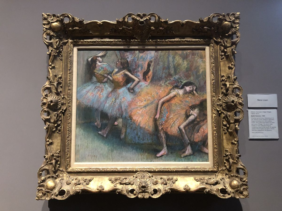 Degas national gallery Londra