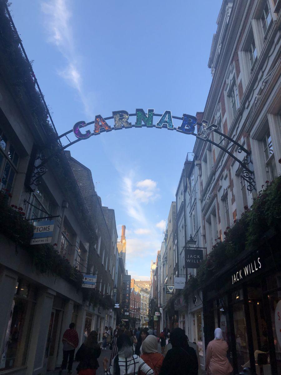 Carnaby street Londra