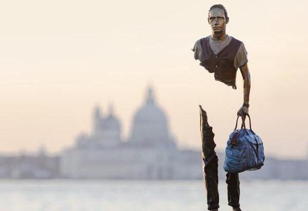 Le sculture di Bruno Catalano: il mio spirito viaggiatore squarciato.