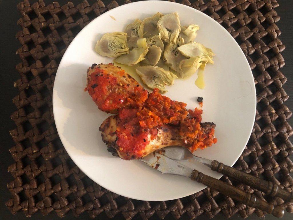 Pollo harissa