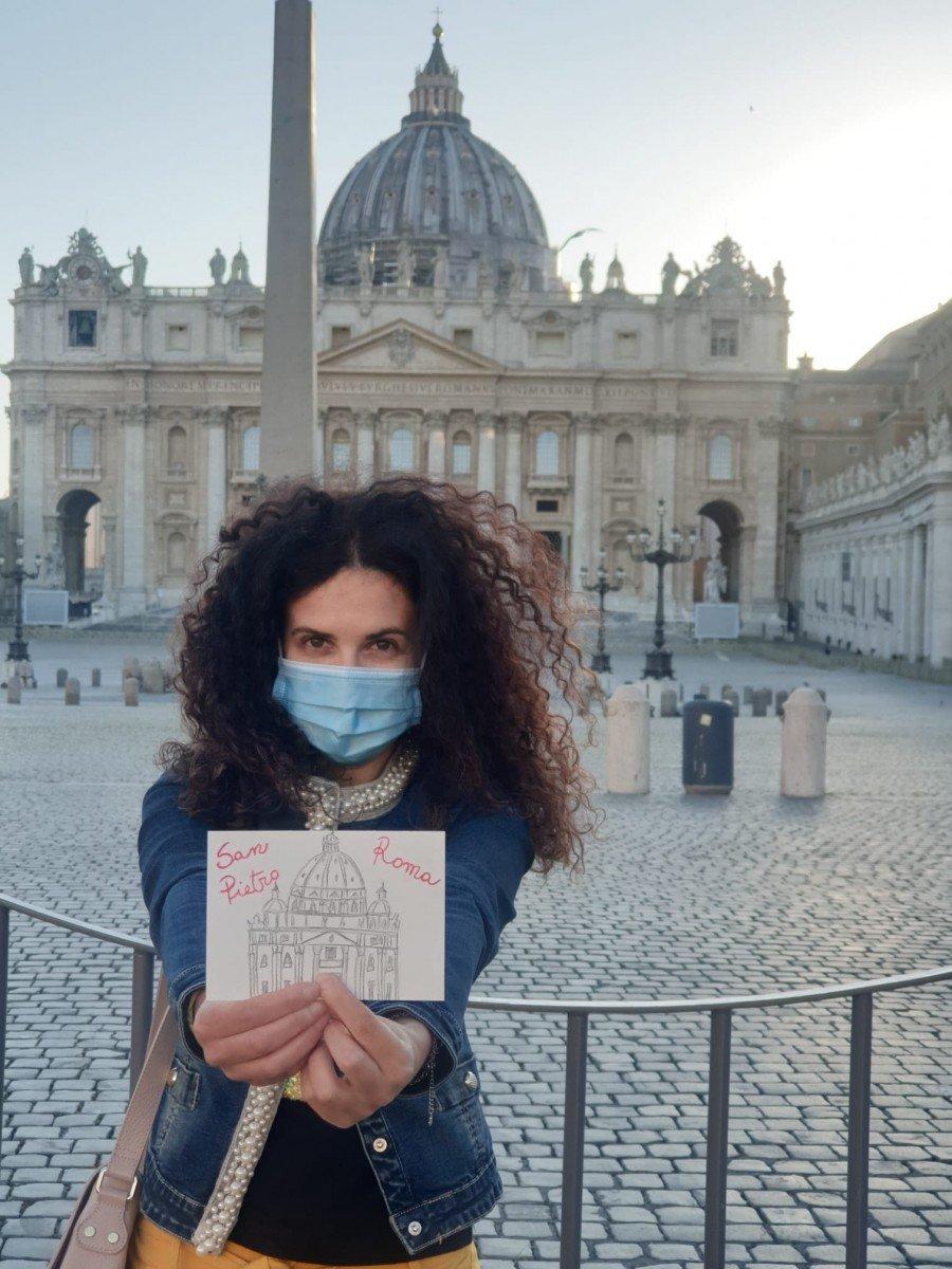 Cartoline da casa roma travel blogger italiane