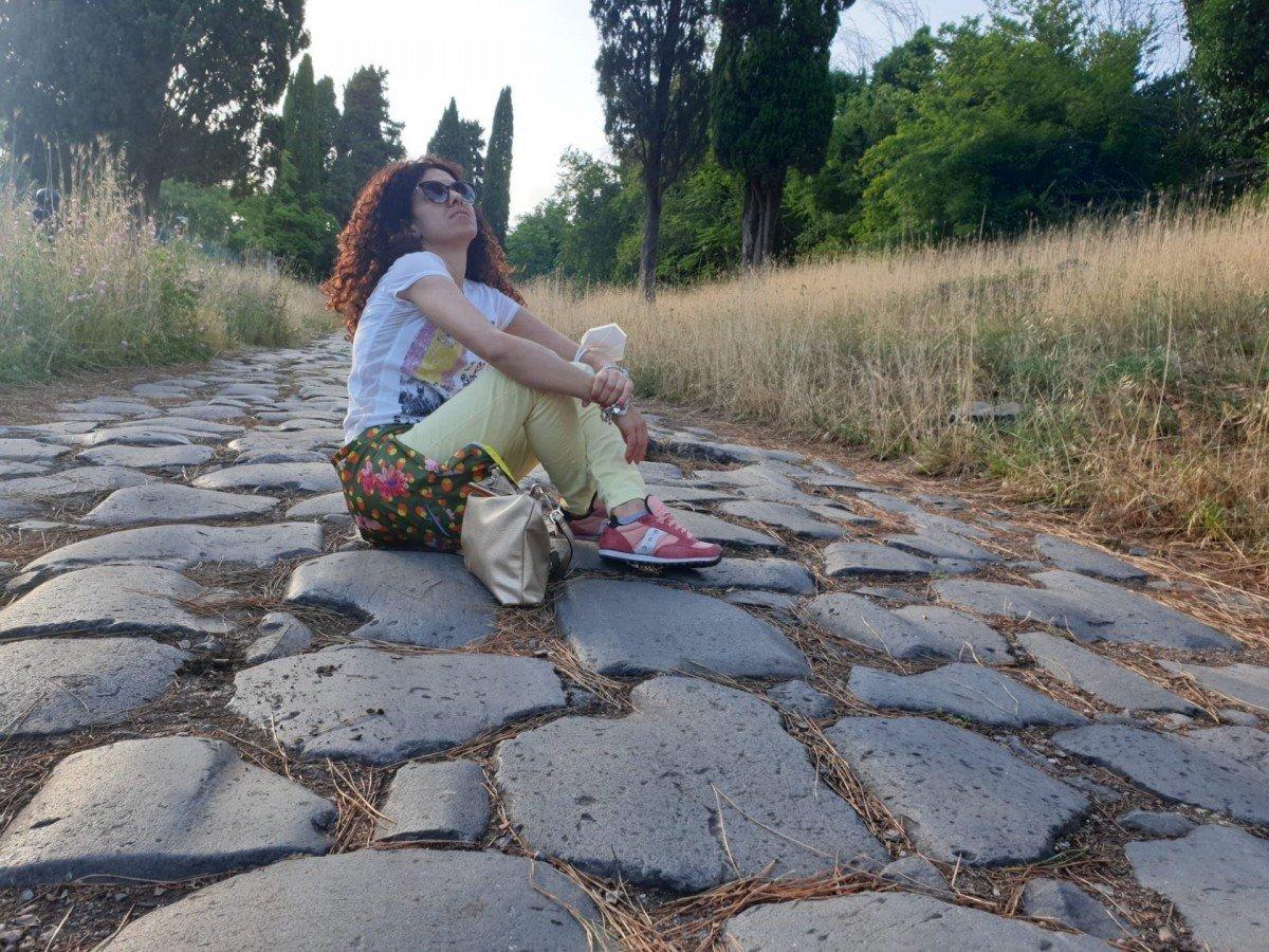 Tramonto al parco dell' Appia antica