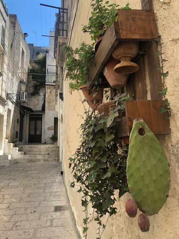 Visitare Oria: uno dei vicoli