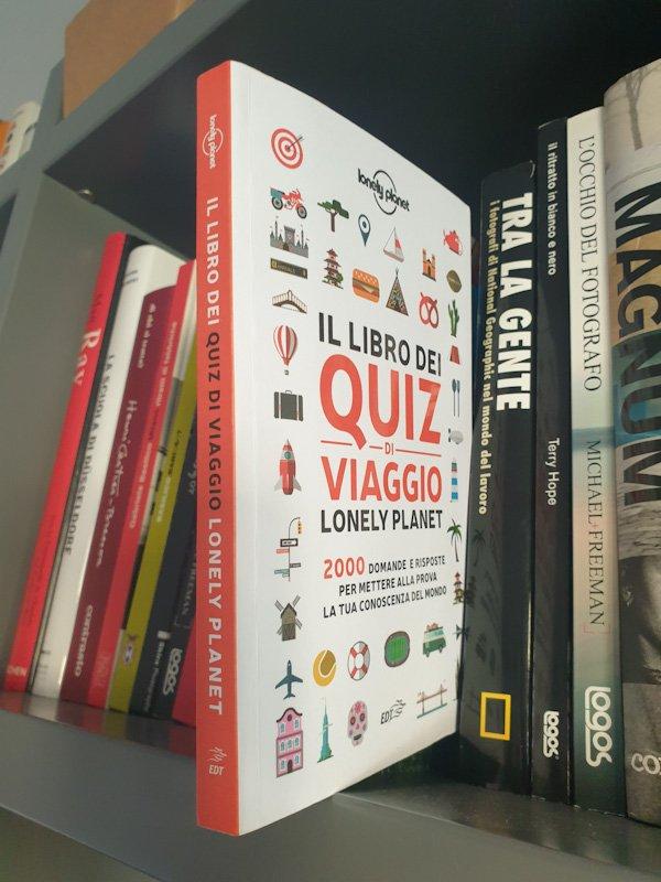 libro dei quiz di viaggio