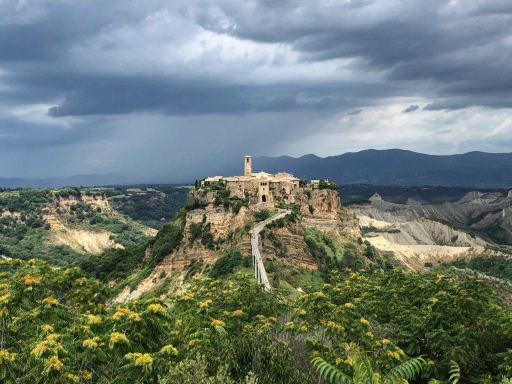 Civita di Bagnoregio: paesaggio