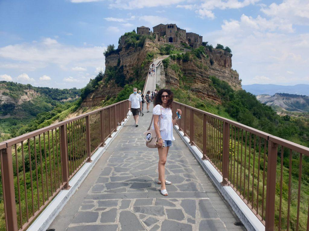 Viaggiatrice da grande a Civita di Bagnoregio