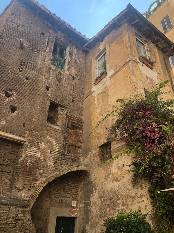 Travel blogger Italiane:scorcio del ghetto